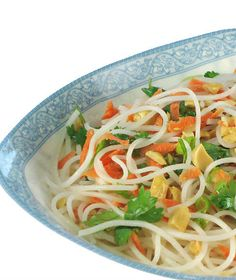 One Perfect Bite: Rice Noodle Salad