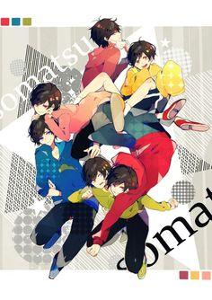 Osomatsusan is love Anime Siblings, Anime Couples, Dark Anime Guys, Anime Love, Hetalia, How To Draw Sans, Gamers Anime, Anime Drawing Styles, Gekkan Shoujo Nozaki Kun