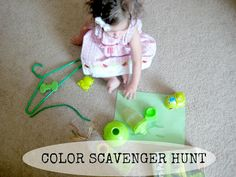 Love, Play, Learn: COLOR SCAVENGER HUNT