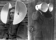 Miniaturized listening devices for the improved mobility, concepts from The Netherlands, 1930s