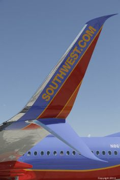 Southwest Airlines made its first revenue flight with Boeing equipped with Aviation Partner's Boeing Split Scimitar Winglets Civil Aviation, Aviation Art, Eddie Rickenbacker, Pilot, Domestic Airlines, Fixed Wing Aircraft, Save Fuel, Plane Design, Best Airlines