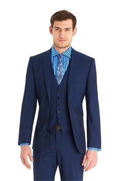74b182c2d Ted Baker Tailored Fit Blue Mix And Match Suit Jacket Smokings Bleu Marine