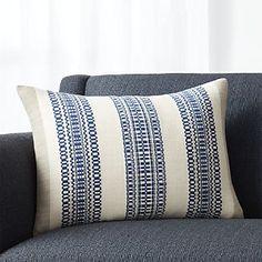 """Bryce Blue 22""""x15"""" Pillow"""
