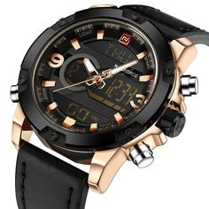f69869bf2eb Naviforce Army Sport Watch. Homens Do ExércitoRelogio Masculino ...