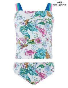 5941239397756 Monsoon   Fabianna Tankini   Ivory   3-4 Years   4171282623 Cute Swimsuits,