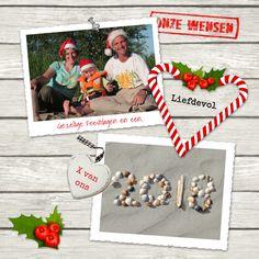 #creagaat kerst en nieuwjaarskaart