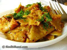 Seyal Phulka (Leftover Rotis in Garlic tomato curry)   Sindhi Rasoi  Sindhi Recipes