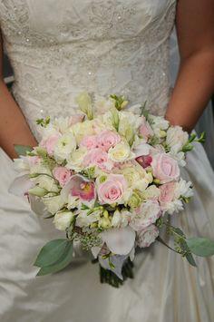 Garden Party Romance Brides Bouquet