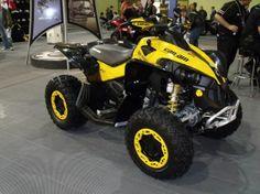 2014 Can Am Renegade 800r Efi 4 Wheeler Yellow 400 Miles For