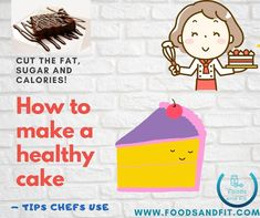 Do you sacrifice cake to follow a healthier life, lose weight or to gain lean muscle? If you learn how to make a healthy cake, you'll never have to sacrifice your dessert again.  Unfortunately, cakes are one of the main culprits to be cut from a healthy eating plan or weight loss regime. They also contain a multitude of ingredients that are highly processed and exceed the recommended guidelines in terms of fat, sugar & calories.  #FoodsandFit #Cake #Healthy #HealthyFood #Dessert #WeightLoss Healthy Cake, Healthy Desserts, Healthy Cooking, Healthy Recipes, Healthy Foods, Healthy Eating, Low Sugar Diet, Calories In Sugar, Flourless Cake