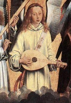 Hans Memling (1435-1494) Angel Musicians (left panel), 1480s, Koninklijk Museum voor Schone Kunsten (2).jpg