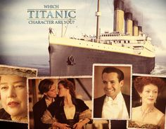You got : Rose DeWitt Bukater Titanic Boat, Which Character Are You, Sad Movies, Most Romantic, Quizzes, Cool Girl, Leo, Entertainment