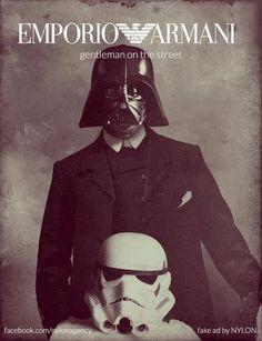 Emporio Armani #starwars #darthvader #stormtrooper