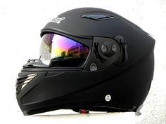 Masei Matt Black 830 Full Face Motorcycle Helmet Free Shipping
