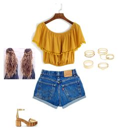 """Summer style"" by innaboutsi on Polyvore featuring Tory Burch and Charlotte Russe"