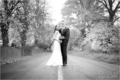 Winter Wedding -- Bride Laughing -- Ryan Welch Photography