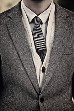 sweater under tux instead of vest