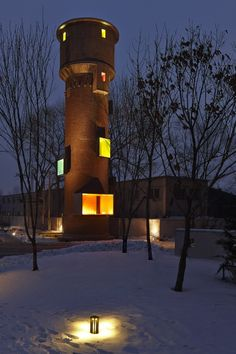 Public Folly – Water Tower Renovation / META – Project