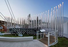 ENEL Pavilion, by Piuarch, in EXPO 2015, Milan, Italy.