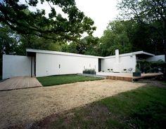 Marcel Breuer's 1962 Kacmarcik house in St. Paul, MN