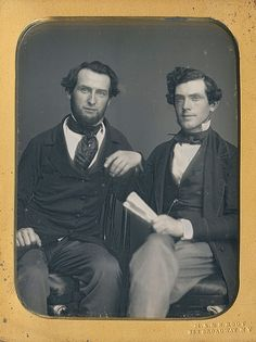 1/4 plate daguerreotype by the brothers Root, Marcus Aurelius & Samuel, who produced this stellar dag when they operated together at 363 Broadway in NY City.