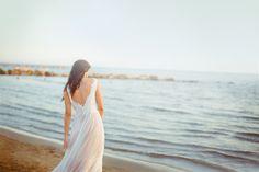 Brautkleid BUNIK, tiefer Rückenausschnitt, Bridalstyle, Wedding dress, deep neckline