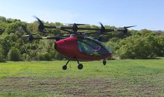 Passenger Drone lives up to its name with manned flight, #commute, #drone, #transportation