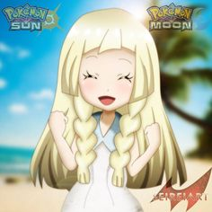 Pokemon Sun and Moon # Lillie # by SeireiART