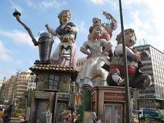 València, España, Las Fallas de San José