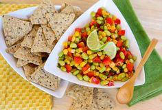 Edamame - Corn Salsa with Citrus