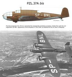 PZL 37A bis Ww2 Aircraft, Military Aircraft, War Thunder, Ww2 Planes, Military Equipment, Air Show, Luftwaffe, World War Two, Wwii
