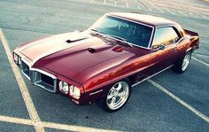 1969 Pontiac Firebird Paint it midnight metallic blue with red mother pearl and it use to be mine :(