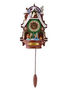 2013 Santa's Magic Cuckoo Clock Hallmark Christmas Ornament - Hooked on Hallmark Ornaments