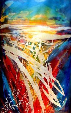 """Batik Abstract"" par Marcia Baldwin"