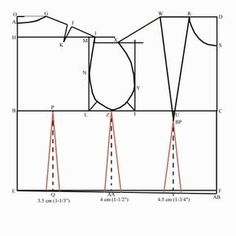 Fantastic! Bodice block drafting tutorial. Its like the key to the universe.
