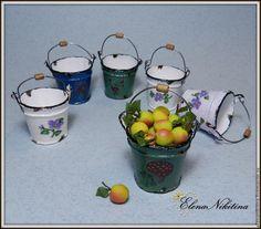 Мастер-класс: эмалированное ведро в миниатюре – Ярмарка Мастеров