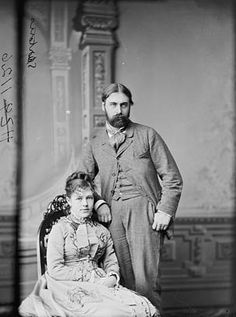 Wedding of First Daughter Nellie Grant, the only daughter of President Ulysses Grant and First Lady Julia Grant