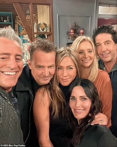 Matthew Perry brought 'palpable unease' to Friends reunion