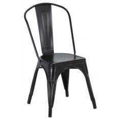 <p>Näyttävä ja mukava Metal tuoli, jossa rouheaa ja teollista ilmettä. Valmistettu metallista, helppo pitää puhtaana.</p>