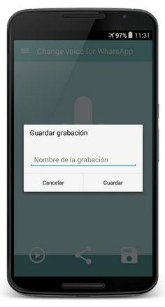 AppsUser: Voice Changer, app que te permite enviar mensajes de audio con la voz cambiada a tus contactos en WhatsApp