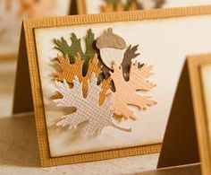 Simple DIY placecards for the Thanksgiving table