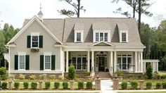 Incroyable Exterior Color...southern Living Home Pictures | ... Landing   Frank