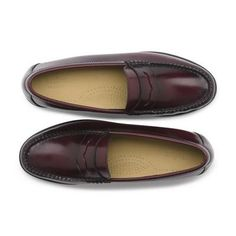 Original Weejuns. Though loafers are recommended for me, the traditional beef roll (e.g., thick overstitching) is not my best.