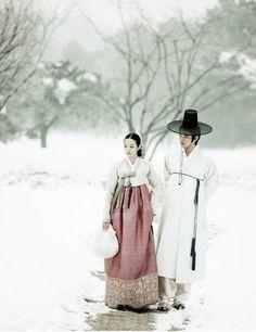 Vestimenta tradicional de Corea del Sur