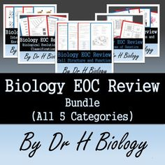 EOC SALE! All 5 Biology Reviews - All 5 of my Popular Reviews in one bundle. If…