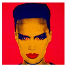 Grace Jones by Andy Warhol