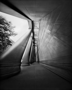 Mellon Institute Columns Through a Pinhole