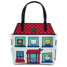 e437fcd591ff Loungefly x Hello Kitty House Tote Bag - Hello Sanrio - Brands Hello Kitty  Bag