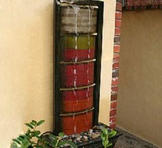 DIY Garden and Crafts - How to Make a Waterfall Fountain