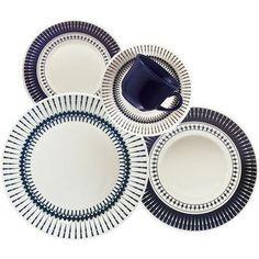 Aparelho de Jantar e Chá Biona Cerâmica 30 Peças Colb